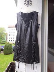 Wetlook Kleid Noir Handmade Größe