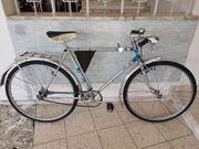 verkaufe alte Fahrrad