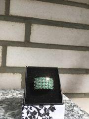 Wunderschöner Smaragd Ring Gr 18