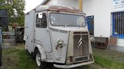Citroen HY Oldtimer Wellblechtransporter Foodtruck