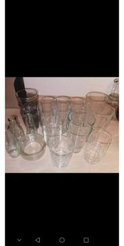 Gläser verschiedene