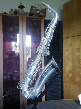 Blasinstrumente - Conn 6M VIII Altsaxophon naked