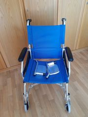 GIMA Aluminium Rollstuhl superleichter Reise-Rollstuhl