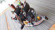 Lego Duplo großes Piratenschiff