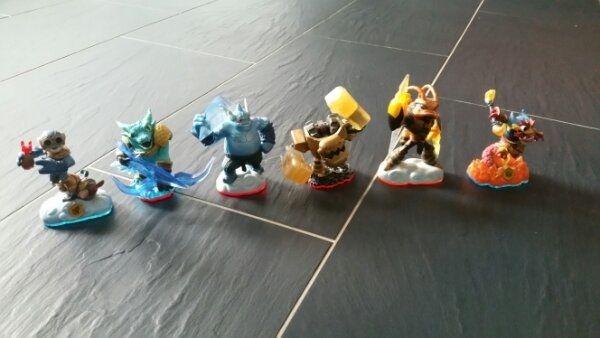 Skylanders Figuren Portal und Fallen