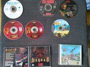 Nostalgie - uralte Spiele-CDs