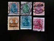 Briefmarken Altdeutschland Deutsches Reich Germania