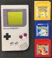 Game Boy Pokemon Spiele