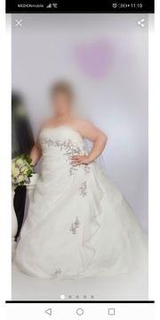Hochwertiges Brautkleid xl XXL 46