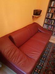 Sofa aus echtem Büffelleder