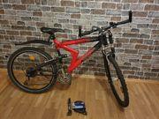 Fahrrad 26 zoll mit Zubehör