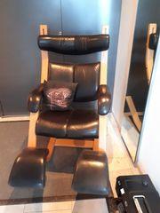 Stuhl mit 4 Funktionen Massivholz