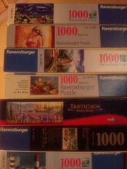 diverse Ravensburger Puzzle 1000 Teile