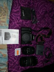 Canon 750D Top wie NEU -
