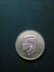 Münze John F Kennedy