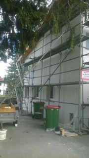 Gerüst Fassadengerüst Baugerüst Verleih Vermietung