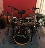 E-Drumset Drumtec Diabolo mit Soundmodul
