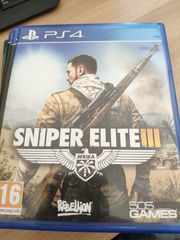 PS4 Spiel Sniper Elite III