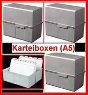 Karteiboxen A5