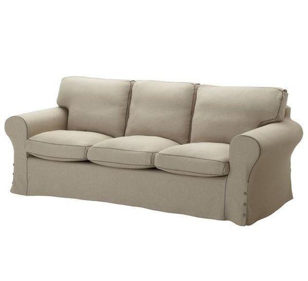 Ikea Ektorp 3er Sofa Und Ektorp Hocker In Landsberied Ikea Mobel