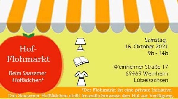 Hofflohmarkt Weinheim Lützelsachsen