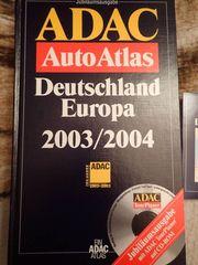 ADAC Auto Atlas Deutschland Europa