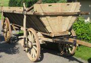Leiterwagen Heuwagen Pferdewagen Pferde Kutsche