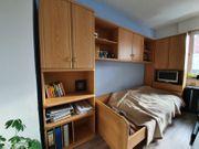 Jugendzimmer komplett Bett Schreibttisch Kleiderschrank