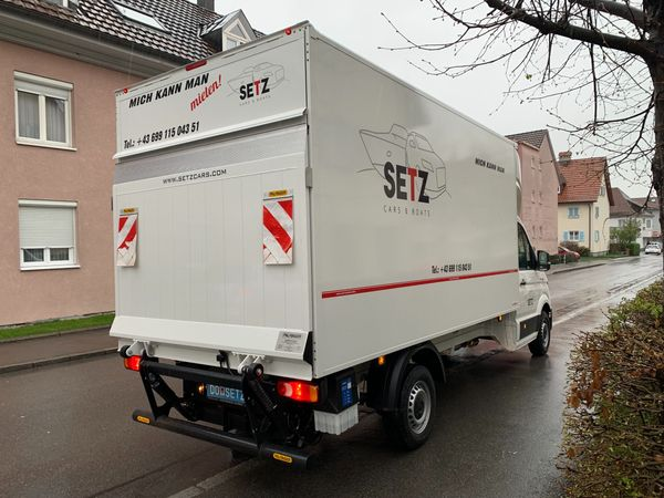Vermiete Umzugstransporter Automatik nur EUR 129