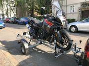 Motorrad-Anhänger Mieten pro Tag
