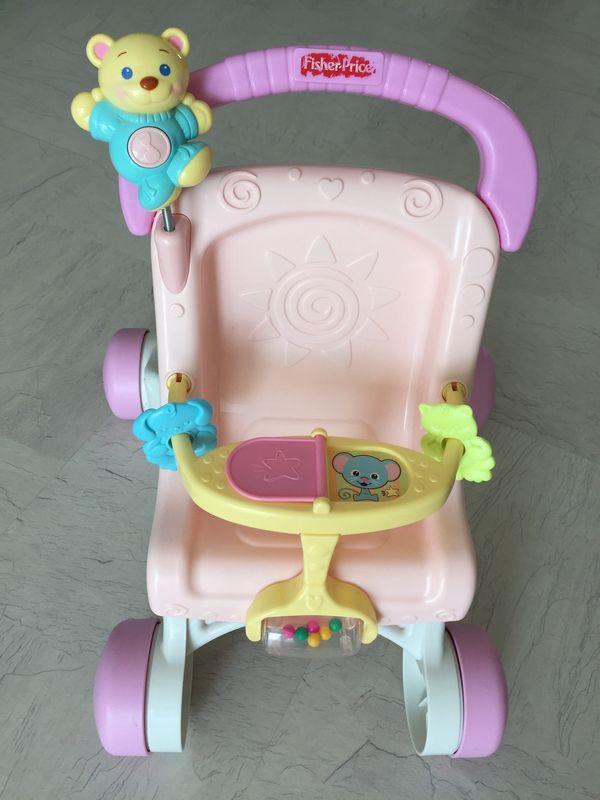 Fisher-Price Lauflern- Puppenwagen