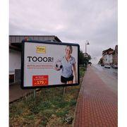 Immobilie Grundstück Hauswand als Werbefläche