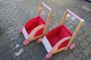 Haba Puppenwagen Lauflernwagen Sommerwiese Zwillinge