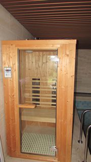 Infrarot-Sauna-Kabine