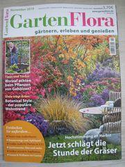 Brandneu ungelesen Magazin GartenFlora November