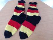 Selbstgestrickte Socken