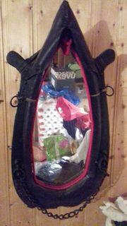 Pferdekummet mit Spiegel für Bauernstrube