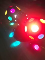 Discoeffekt Rolling Balls