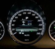Mercedes Benz AMG Menü Tacho