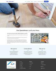 Homepage Website Webseite Internetseite Handwerker