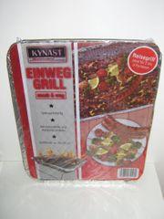Einweggrill inkl Kohle - 5er-Set BBQ