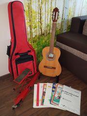 Konzertgitarre 3 4 Pro Arte