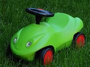 Rutschauto - Rutschfahrzeug - Bobbycar - Roller - Dreirad -