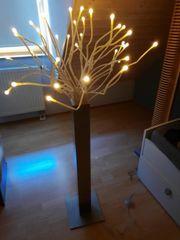 Stehlampe Alu