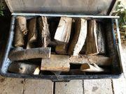 Brennholz Kaminholz abgelagert