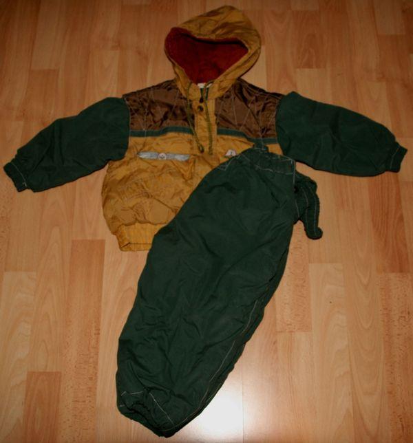Warmer Winter-Anzug -Größe 92 - 2teiliges Set