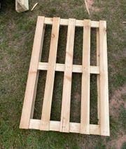 Holzpaletten 120cm auf 80cm