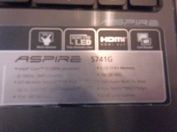 ich biete einen Laptop Acer
