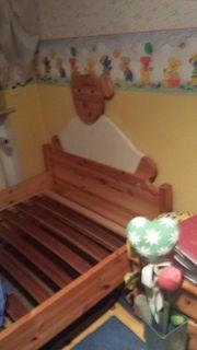 Kinder - Jugend Bett 2x1m massiv