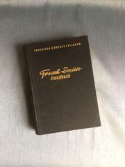 Fernseh-Service-Handbuch von Ingenieur Günther Fellbaum
